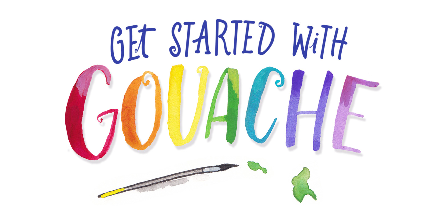 Get Started With Gouache | Deanna Maree Studio