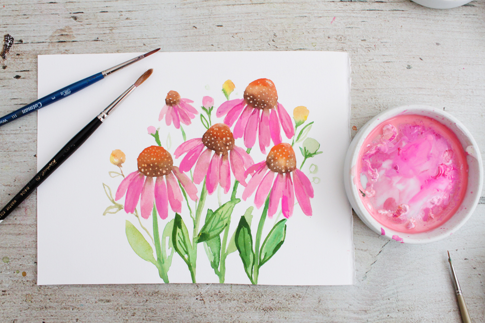 How To Use Gouache Like Watercolours