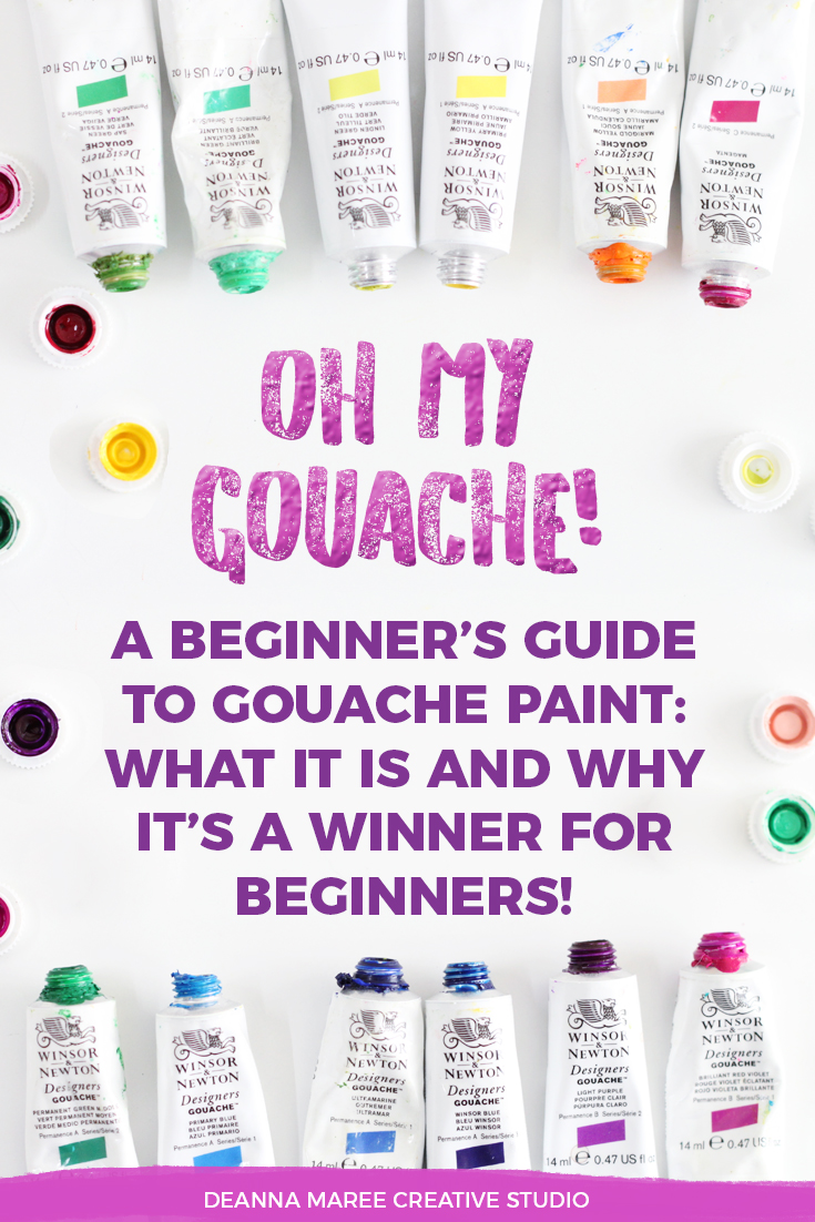 A Beginner's Guide To Gouache: Everything You Need To Know!