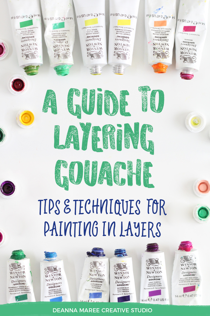 How To Paint With Gouache: A Guide To Layering