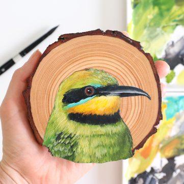 11) Rainbow Bee-eater