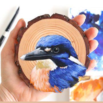 14) Azure Kingfisher