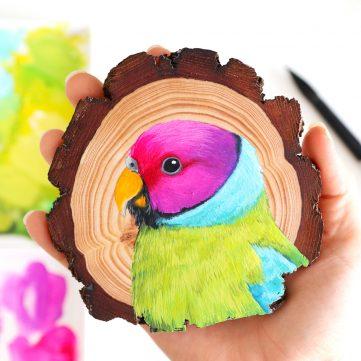 39. Plum-headed Parakeet