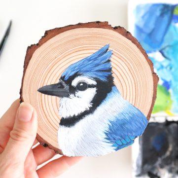 60) Blue Jay