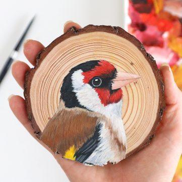 77) European Goldfinch