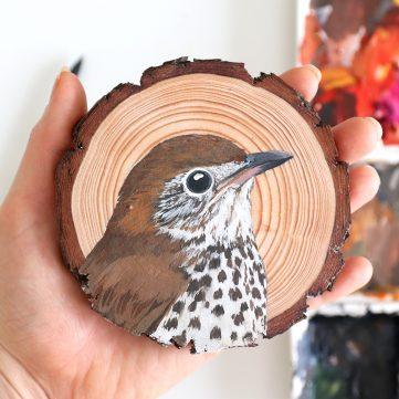 80) Wood Thrush