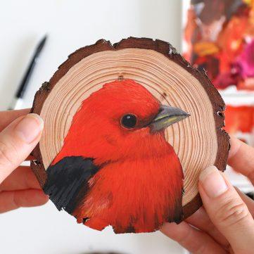 81) Scarlet Tanager