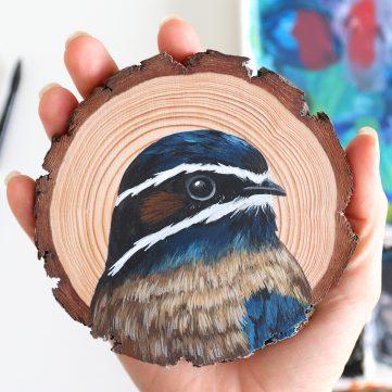 85) Whiskered Tree Swift