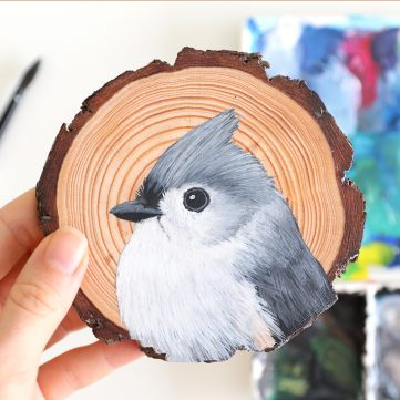 90) Tufted Titmouse