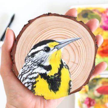 94) Western Meadowlark